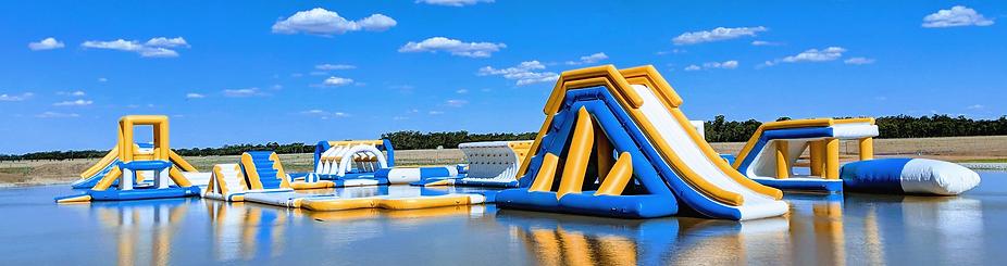 Notre parc aquatique gonflable en Meurthe-et-Moselle