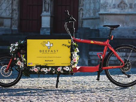 Livraisons à vélo cargo : un service sur-mesure pour les entreprises amiénoises