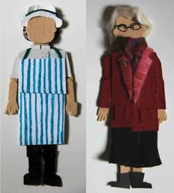 super market puppets