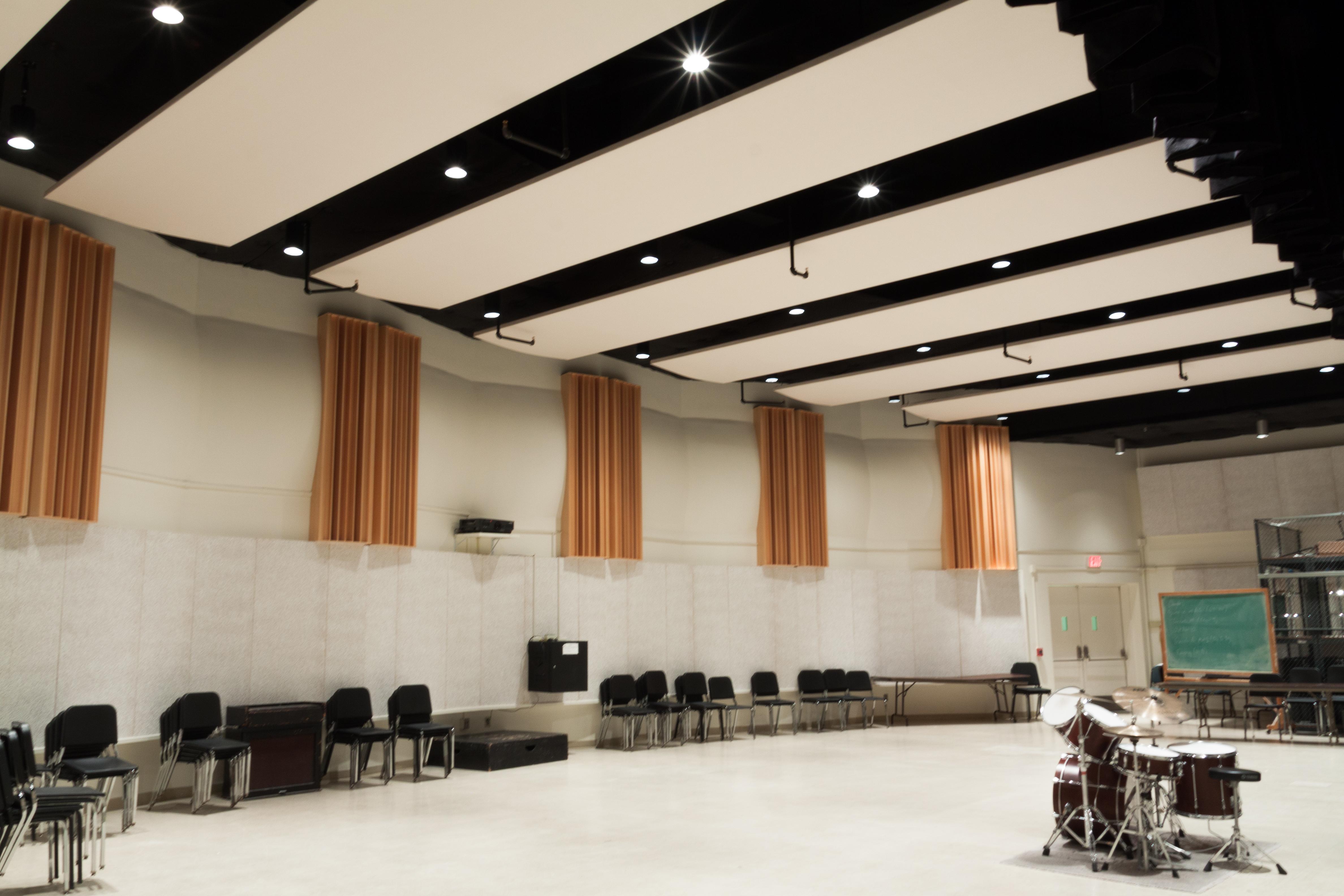 WVU CAC Rehearsal Hall 9-7-13-11