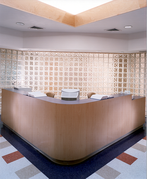 russell reception area