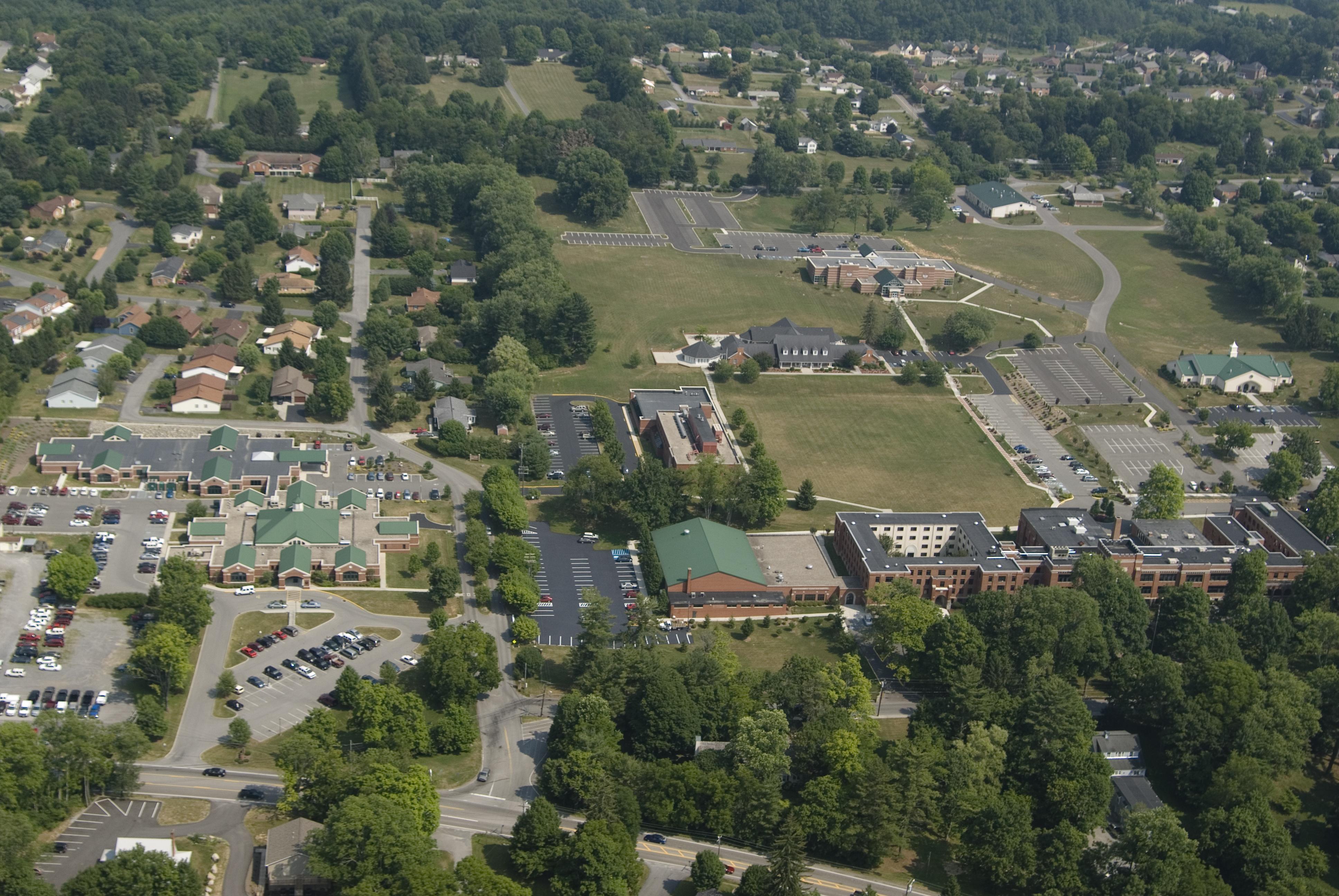 Aerial WVSOM campus 039