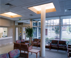 russell interior waiting area