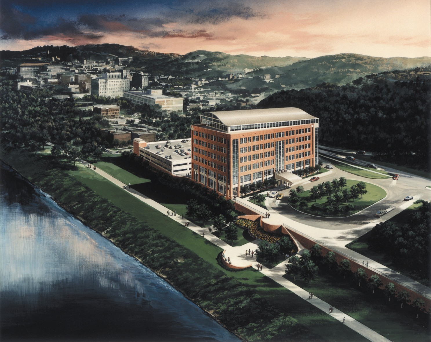 One Waterfront Place Rendering