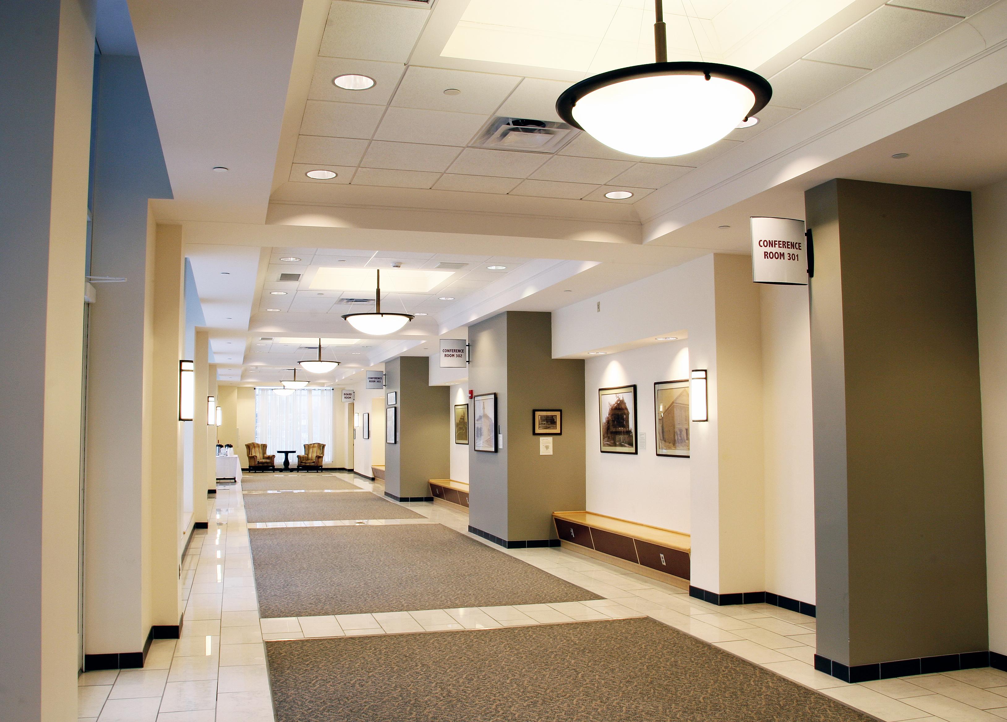 FSU Conference hallway