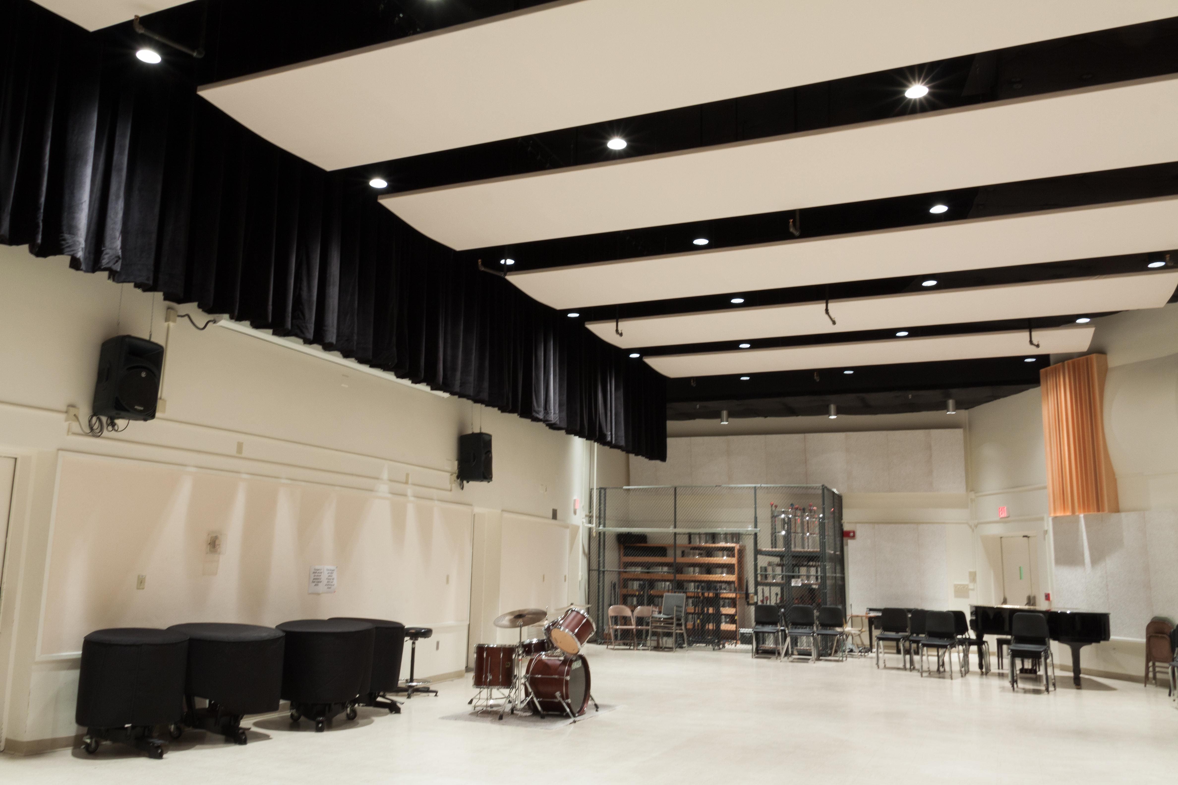 WVU CAC Rehearsal Hall 9-7-13-8
