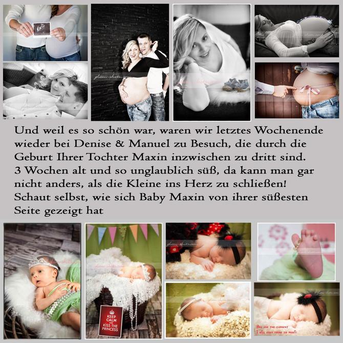 Mit jedem Kind beginnt die Welt von Neuem - Willkommen Baby Maxin