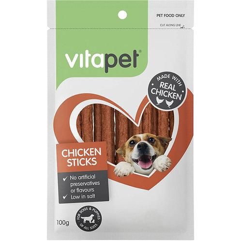 Vitapet Real Chicken Sticks 100g