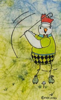 Golfing Chicken