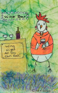 Wine and Wing Chicken