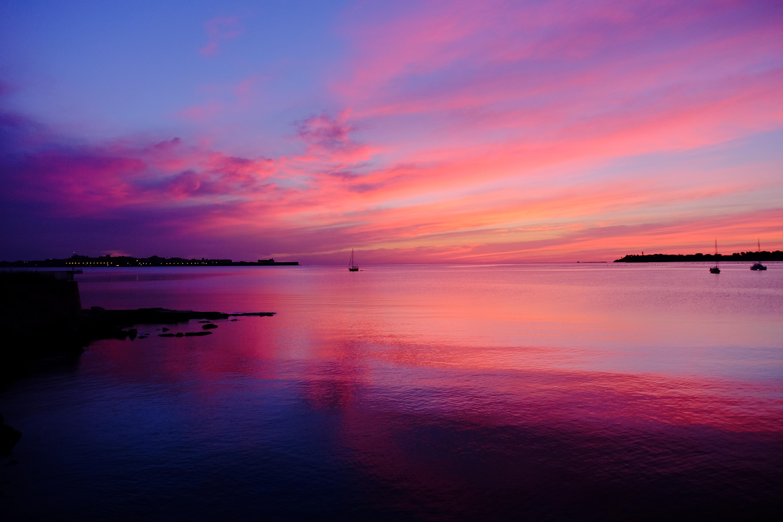 tramonto ortigia