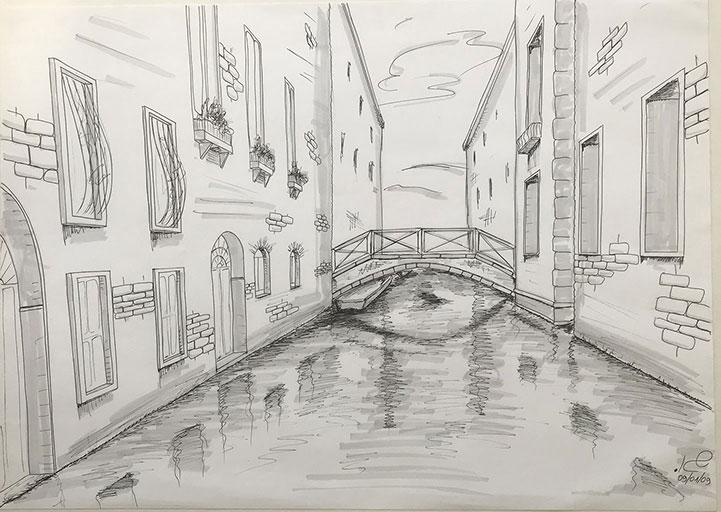 ונציה בשחור לבן