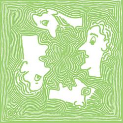 אנשים בעולם - ירוק בהיר