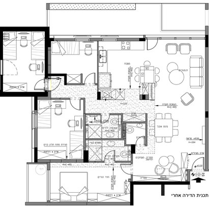 תכנית הדירה אחרי