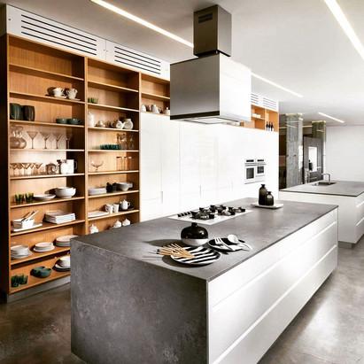 תצוגת מטבח מודרני