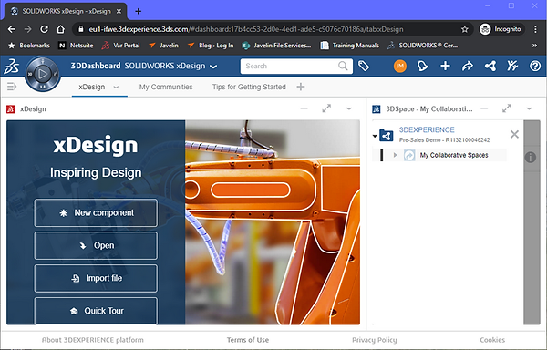 SOLIDWORKS xDesign dashboard.png