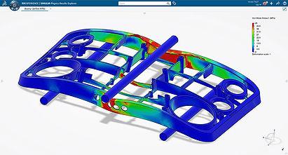 3DEXPERIENCE SOLIDWORKS Simulation Desig
