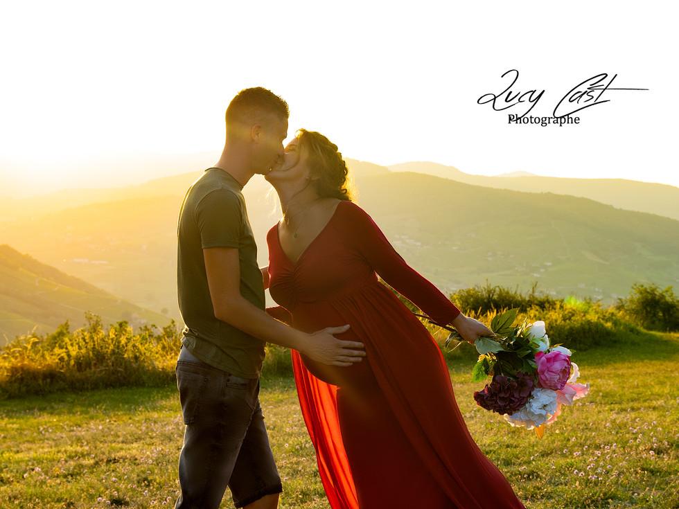 lucy cast photographe grossesse