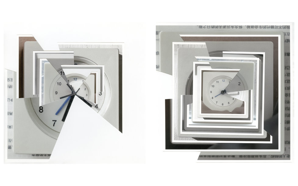 Zhang Yuan - The Clock 6- My everyday wake up time - 2018 - Archival Pigment Print