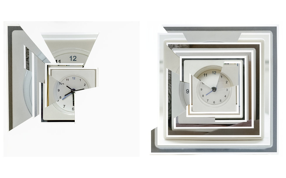 Zhang Yuan - The Clock 3 - My everyday wake up time - 2018 - Archival Pigment Print