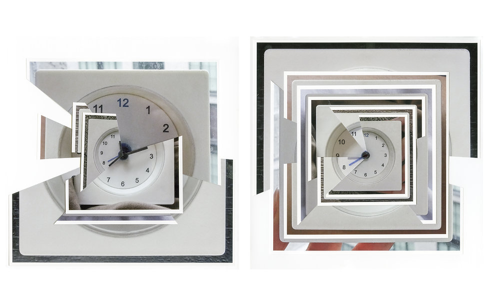 Zhang Yuan - The Clock 2 - My everyday wake up time - 2018 - Archival Pigment Print