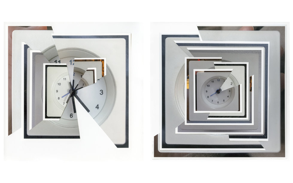 Zhang Yuan - The Clock 1- My everyday wake up time - 2018 - Archival Pigment Print