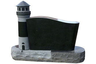 Lighthouse Headstone