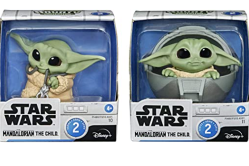 Baby yoda two packs