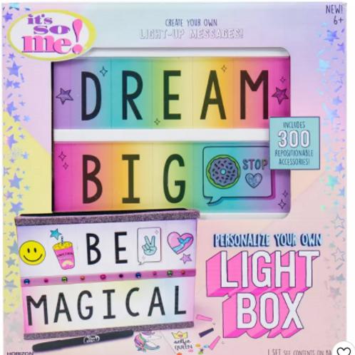 Dream Big Magical Light Box