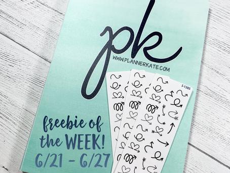 Freebie of the Week 6/21 - 6/27