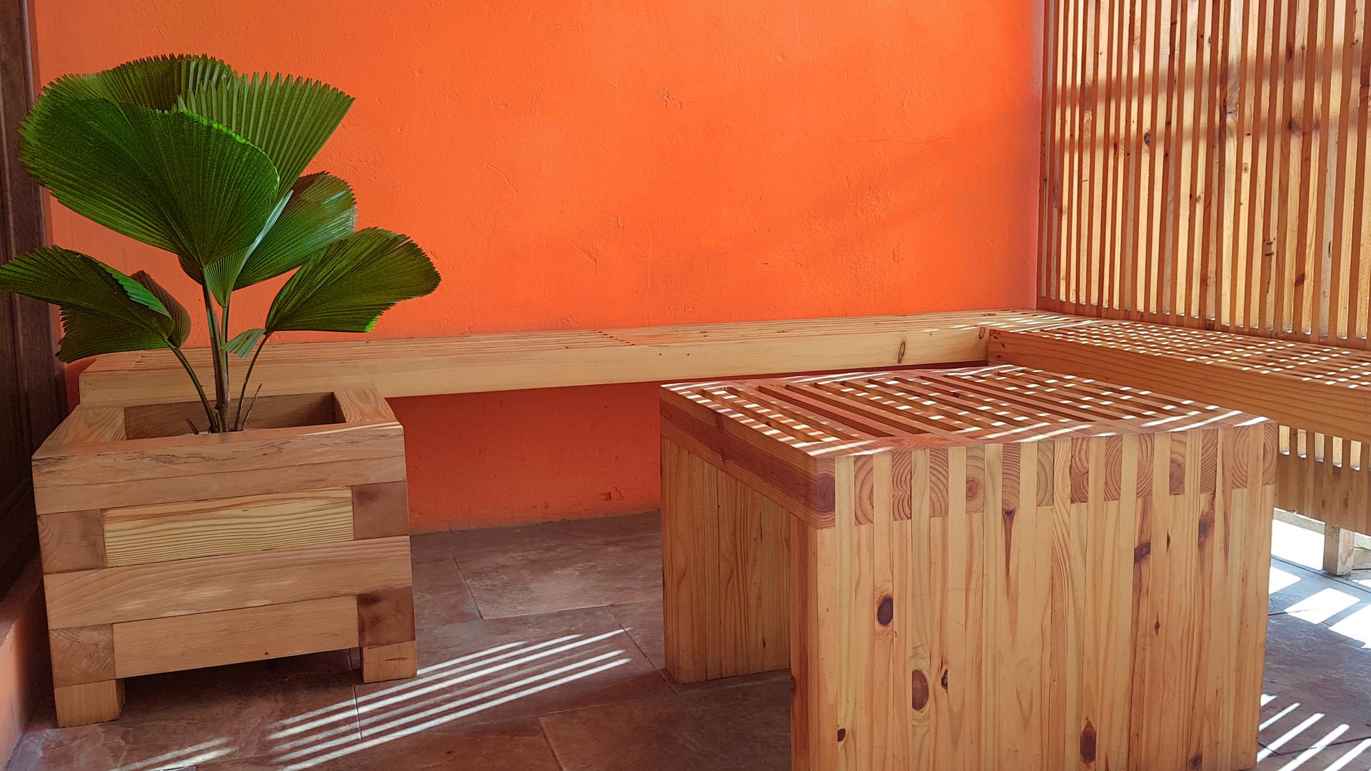 PLANTER, BENCH, TABLE, SCREEN