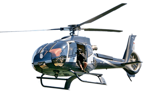 Helicopter film vluchten