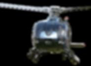 Helikopter vliegen op uw evenement