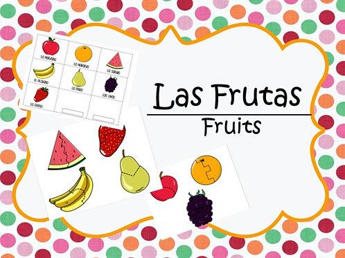 Las Frutas puzzle