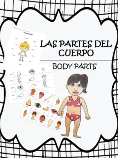 Body parts activities