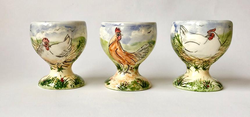 Chicken egg cups