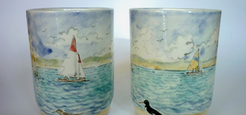 Sailing Boats beakers