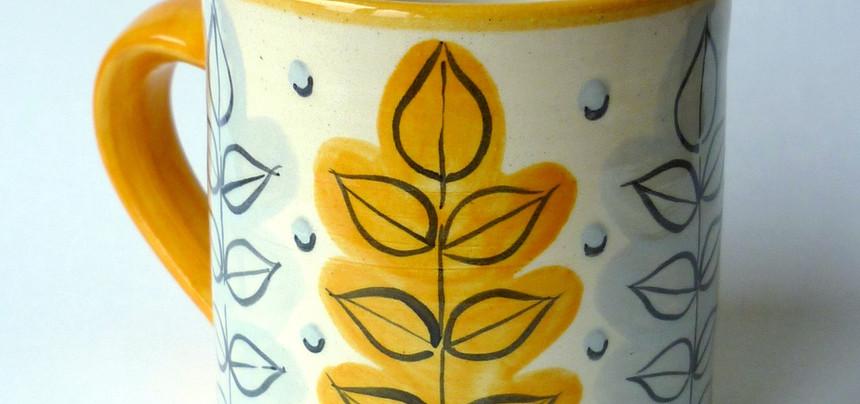 New Leaf straight mug