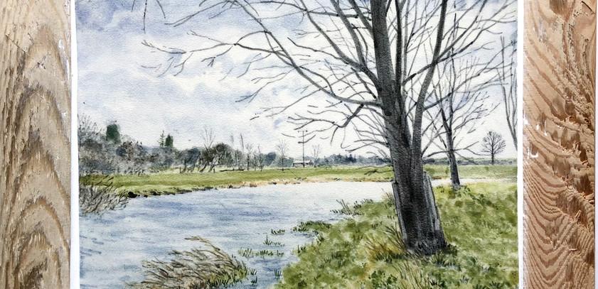The river waveney near Mendham