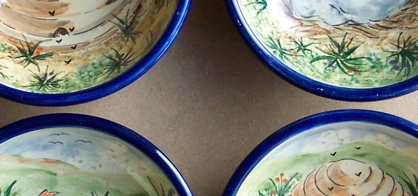 Chicken & Hive dessert bowls