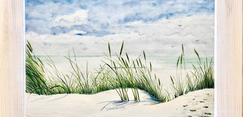 Dunes large tile