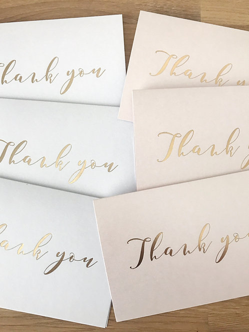 Thank You Card (Pack of 5)