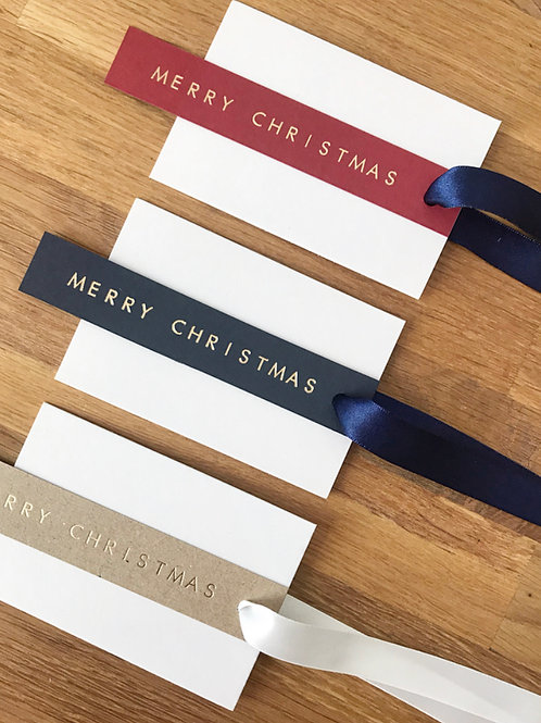 Merry Christmas Gift Tags    (Pack of 3)