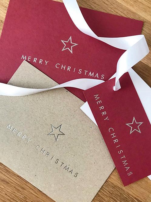 Christmas Star Gift Tag