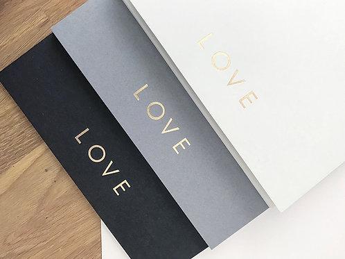 Love Sketchbook (Pack of 3)