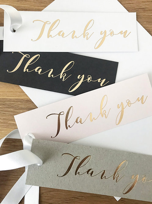 Thank You Gift Tags (Pack of 4)