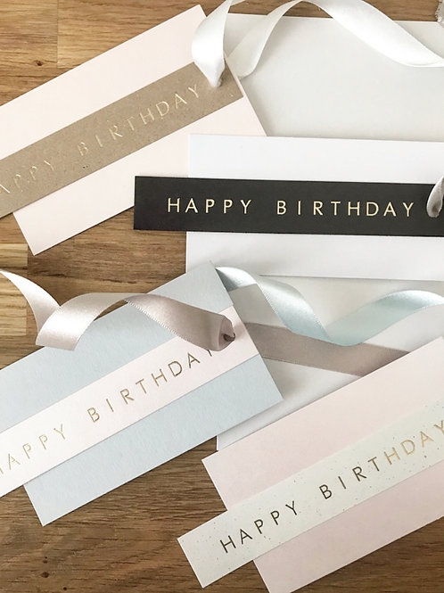 Happy Birthday Gift Tags (Pack of 4)