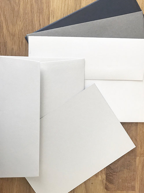 A6 Blank Cards (Pack of 5)