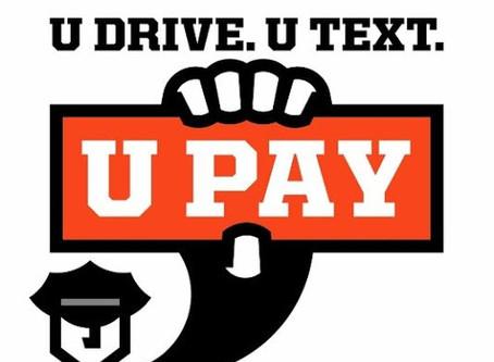 U Drive. U Text. U Pay