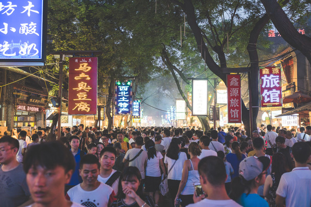 Moslimwijk, Xi'an
